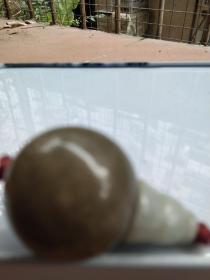 紫罗兰翡翠壶芦珠。先鉴定后买售出不退换。
