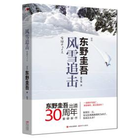【二手包邮】风雪追击 东野圭吾(内容一致,印次、封面或**不同
