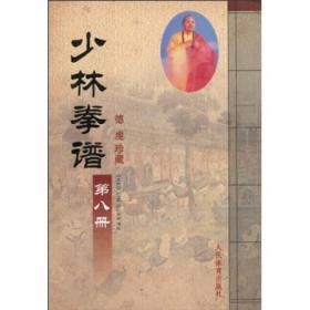少林拳谱 第八册 专著 德虔珍藏 shao lin quan pu