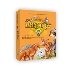 新书--中外名家动物小说精品丛书:燃烧的岩石(拼音版)