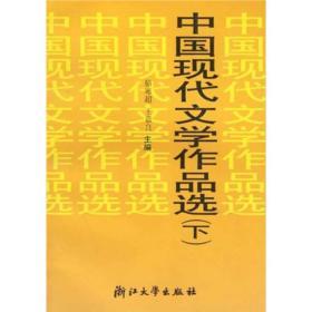 中国现代文学作品选(下)