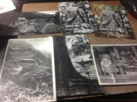 一组三十年代日本老明信片,清澄,安房国,合计九张