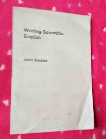 Writing Scientific English科技英语写作【英文版16开】