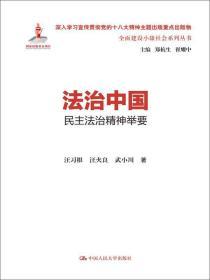 法治中国:民主法治精神举要(全面建设小康社会系列丛书)