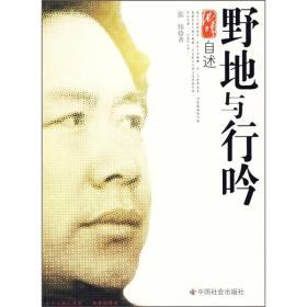 正版 野地与行吟 张炜 中国社会出版社