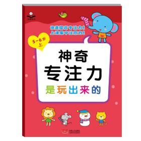 现货金童良书:神奇专注力是玩出来的(5-6岁上) 金童良书
