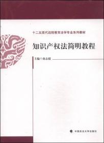 知识产权法简明教程 商志超 中国政法大学出版社 9787562054108