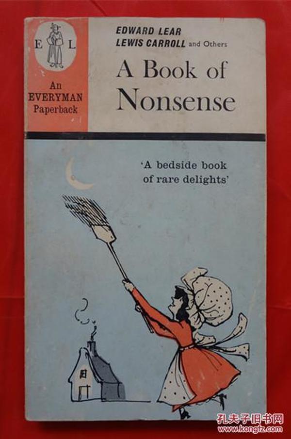 A Book of Nonsense   A Book of Nonsense