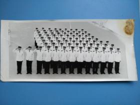 老照片 : 海军方队