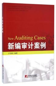 【二手包邮】新编审计案例(28个真实企业案例,全视角透析民间审计
