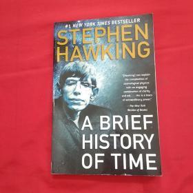 英文原版 A Brief History of Time 时间简史 Stephen Hawking 霍金