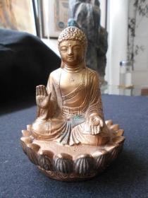 南京晨光机器厂铸【天坛大佛】铜造像,高13.1厘米