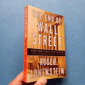 THE END OF WALL STREET NEW YORK TIMES BESTSELLER