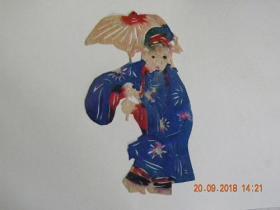 山西民间老艺人剪纸-许仙(50年代)