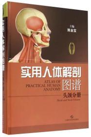 实用人体解剖图谱·头颅分册