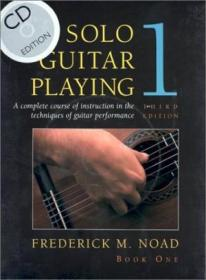 Solo Guitar Playing  Third Edition Book 1 - With Cd (classical Guitar)