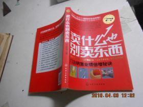 卖什么也别卖东西  作者 :  王建四 著 出版社 :  化学工业出版社