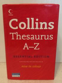 柯林斯彩色英语词典 Collins Thesaurus A-Z :Essential Edition (now in colour)(词典)英文原版书