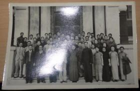 1936年南开大学合影照片