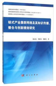 链式产业集群网络及其知识传播、整合与创新绩效研究