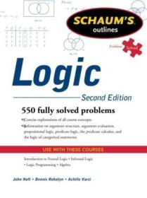 Schaums Outline Of Logic  Second Edition (schaums Outlines)(全新,最快可2~3周内到手,但需补运费价差67元)