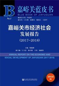 嘉峪关市经济社会发展报告(2017-2018)
