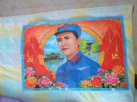 《领袖风采》毛泽东毛主席Y-98-A-51之一75厘米*52厘米