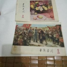 延安画刊1978年:第10和11两本合售