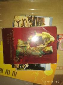 中国出土文物 第一集 7张  明信片