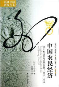 中国农民经济:河北和山东的农民发展1890-1949