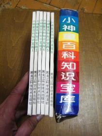 小神童百科知识宝库(盒装六册全 第一系列)盒8品,书95品