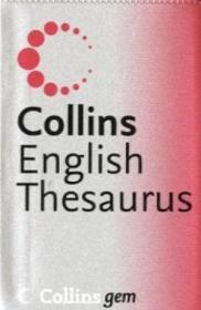 English Thesaurus (collins Gem)