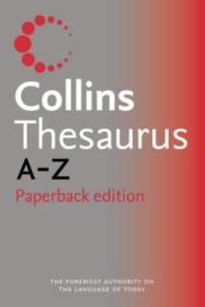 Collins Paperback Thesaurus A-z