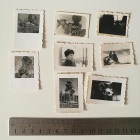 老 照片 部队 解放军 军人 60年代 8小张合售