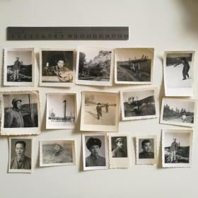 老 照片 部队 解放军 军人 60年代 16张合售