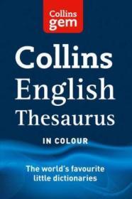 Collins Gem Thesaurus.