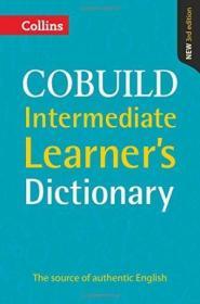 Collins Cobuild Intermediate Learners Dictionary