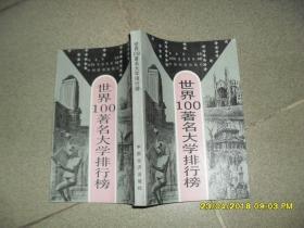 世界100著名大学排行榜