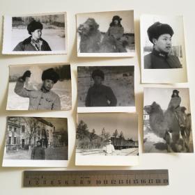 老 照片 部队 解放军 军人 60年代 8张合售