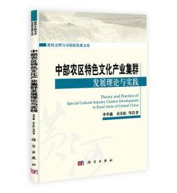 黄河文明与可持续发展文库:中部农区特色文化产业集群发展理论与实践