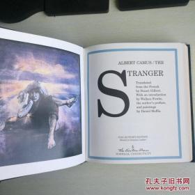 【包邮】1993年The Stranger 《局外人》大师Albert Campus 阿尔贝·加缪存在主义代表作 easton press 20世纪伟大名著系列 真皮精装收藏版