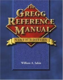 The Gregg Reference Manual (gregg Reference Manual  9th Ed)