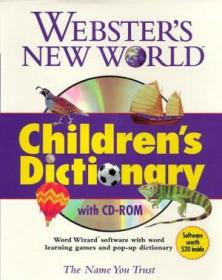 Websters New World Childrens Dictionary (with Cd-rom)