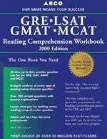 Gre/lsat/gmat/mcat Reading Com (arco Gre Gmat Lsat Mcat Reading Comprehension Workbook)