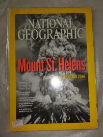 NATIONAL GEOGRAPHIC (原版美国国家地理杂志2010年)Mount St Helens