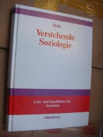 Verstehende Soziologie 德文原版签名本 精装16开,品好近新