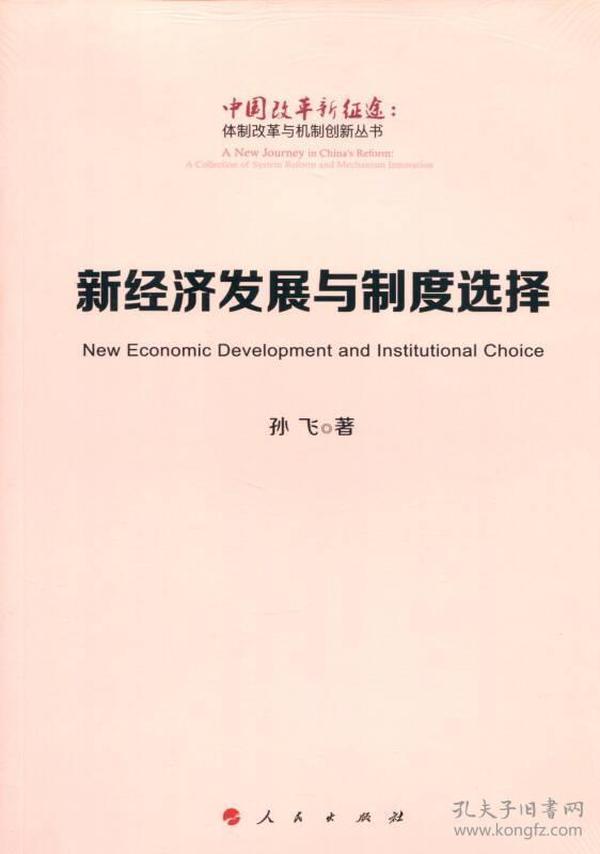 新经济发展与制度选择(中国改革新征途:体制改革与机制创新丛书)