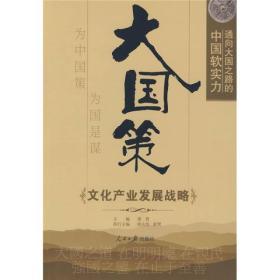大国策:通向大国之路的中国软实力·文化产业发展战略
