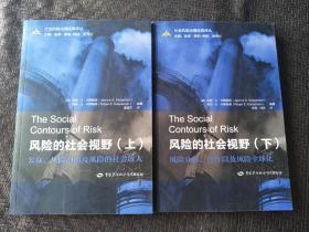 社会风险治理经典译丛:风险的社会视野 风险分析、合作以及风险全球化 【上下册】 书品如图 避免争议