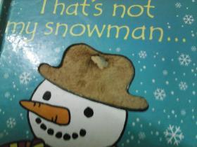 Thats not my snowman 英文原版[Board book]